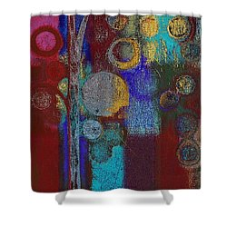 Bubble Tree - Rd01r Shower Curtain by Variance Collections
