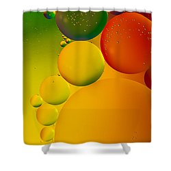 Bubbles Shower Curtain