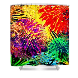 Shower Curtain featuring the photograph Bubbles by Geraldine DeBoer