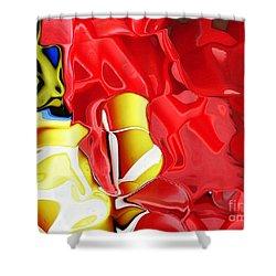 Bucket And Spade Shower Curtain by Carol Lynch