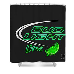 Bud Light Lime 2 Shower Curtain