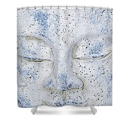 Buddha Statue  Shower Curtain by Tommytechno Sweden