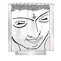Buddha Xiv Shower Curtain