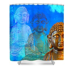 Buddha's Thoughts Shower Curtain