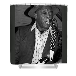 Buddy Guy Sings The Blues Shower Curtain
