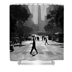 Buenos Aires Obelisk II Shower Curtain