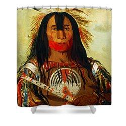 Buffalo Bill's Back Fat Shower Curtain