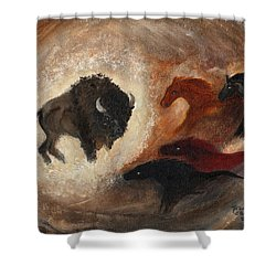 Buffalo Dream Shower Curtain