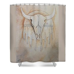 Buffalo Shield Shower Curtain
