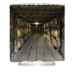Buffalo Trace Rick House - D008610sq Shower Curtain