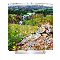 Buford Lake  Shower Curtain
