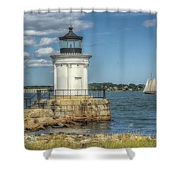 Shower Curtain featuring the photograph Bug Light by Jane Luxton