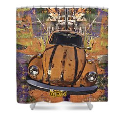 Bug Love Shower Curtain by Bruce Stanfield