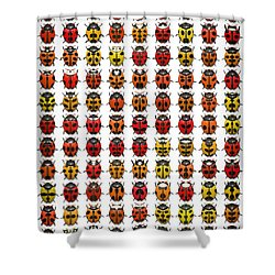 Bugs... Shower Curtain
