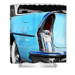 Buick Baby Blue Shower Curtain