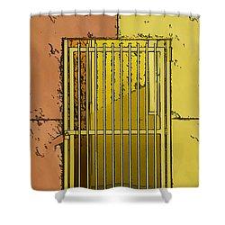 Building Access Denied Shower Curtain