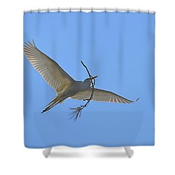 Building Material Shower Curtain