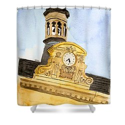 Building Top Paris Shower Curtain