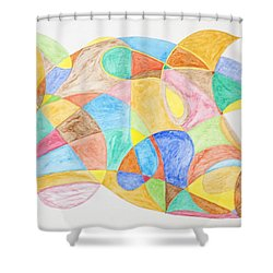 Bull Fish Car Face Shower Curtain by Stormm Bradshaw
