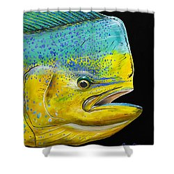 Bull Head Off0033 Shower Curtain