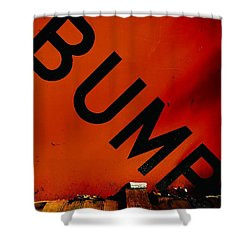 Bump Shower Curtain by Newel Hunter