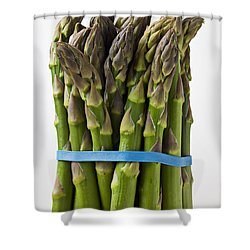 Bunch Of Asparagus  Shower Curtain