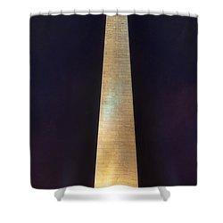 Bunker Hill Monument Shower Curtain by Joann Vitali