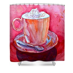 Buon Appetito Shower Curtain by Beverley Harper Tinsley