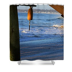 Buoy 1 Shower Curtain by Michael Mooney