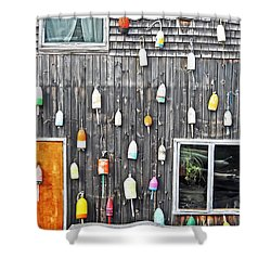 Buoy Wall Shower Curtain