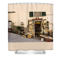 Burasca Shop Of Manarola Shower Curtain