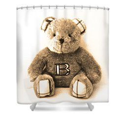 Burberry Bear Shower Curtain