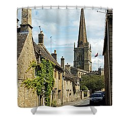 Burford Village Street Shower Curtain