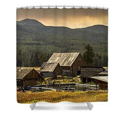 Burgdorf Hot Springs In Idaho Shower Curtain