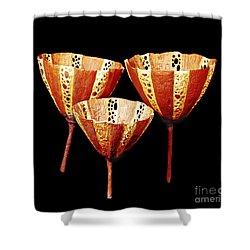 Burgess Shale Sponge Shower Curtain by Chase Studio