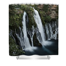 Burney Falls Shower Curtain