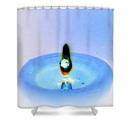 Burning Candle 4 Shower Curtain by Brent Dolliver