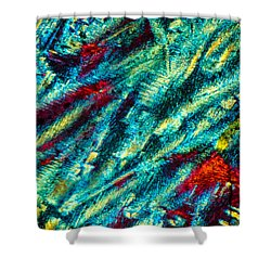 Burning Ice Shower Curtain by Tom Phillips
