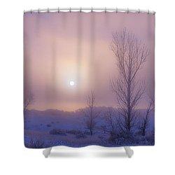 Burning Through Shower Curtain by Darren  White
