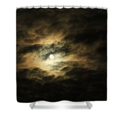 Burning Through Shower Curtain