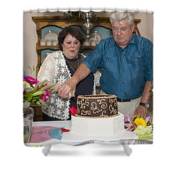 Burns 7542 Shower Curtain