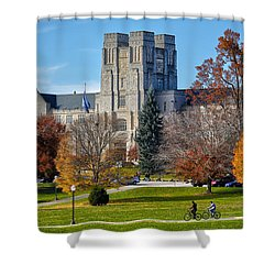Burruss Hall Shower Curtain
