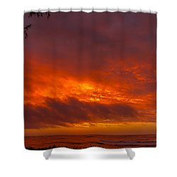 Bursting Sky Shower Curtain