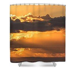 The Trumpet Sound Shower Curtain