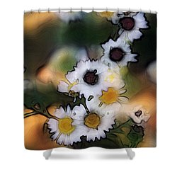 Bursting With Happiness Shower Curtain