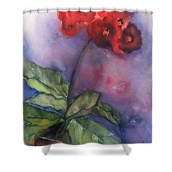 Bursting With Pride Shower Curtain by Sherry Harradence