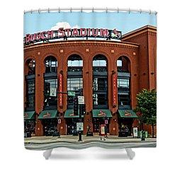 Busch Stadium Home Of The St Louis Cardinals Shower Curtain