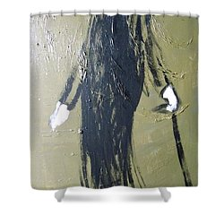 Business Man Shower Curtain