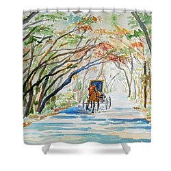 Florida - Business Trip Shower Curtain