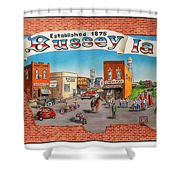 Bussey Mural Shower Curtain by Todd Spaur